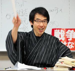 講談師田中伸さん
