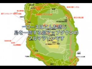 伊豆大島一周マラソンコース